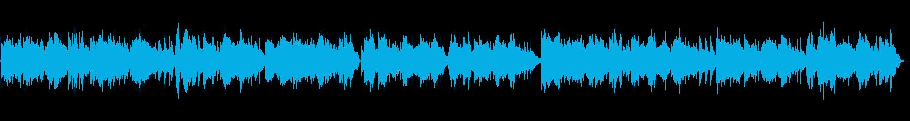 アコーディオンのアイリッシュ風バラードの再生済みの波形