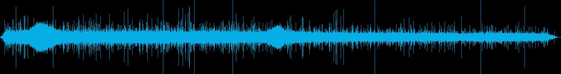 【生録音】美しい雨の音 3の再生済みの波形