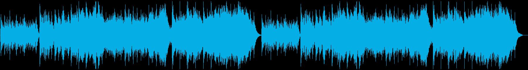 幻想的な森BGMの再生済みの波形