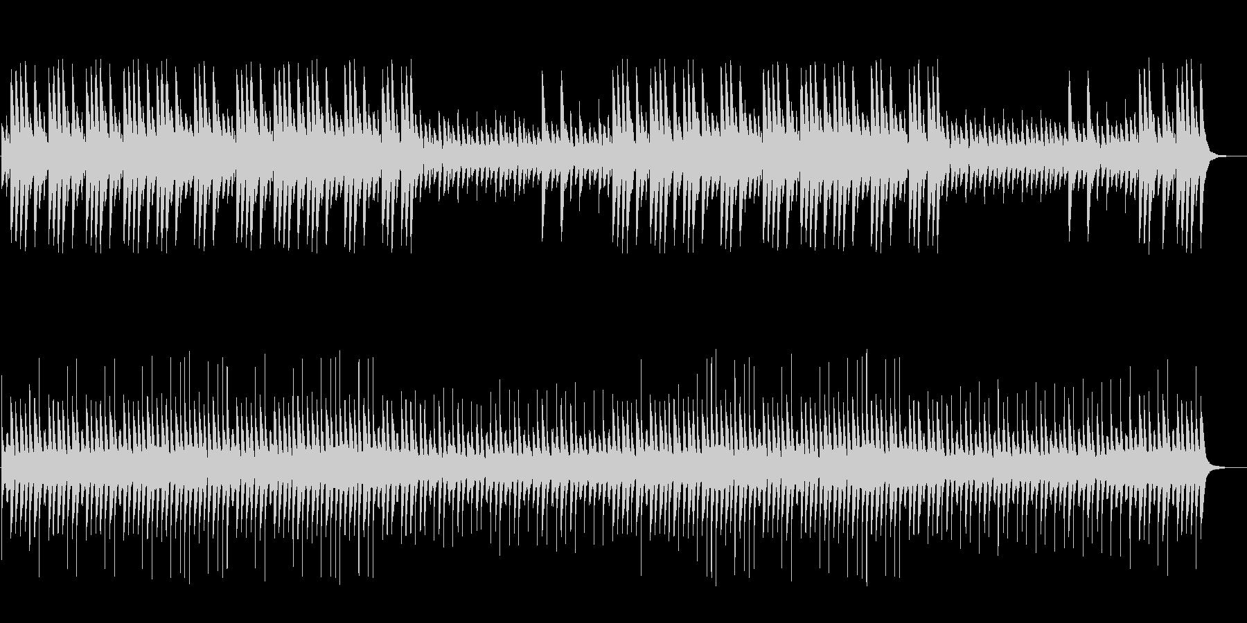 ダーク、ホラー向け悲しく切ないハープの未再生の波形