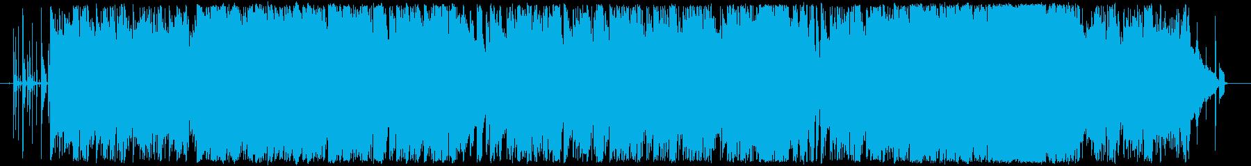 ピアノが印象的なバラードの再生済みの波形