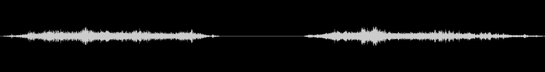 襖の開閉6(速度ゆっくり)の未再生の波形