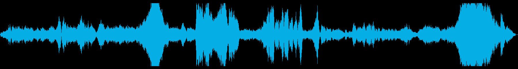 穏やかで繊細なクラシック曲の再生済みの波形