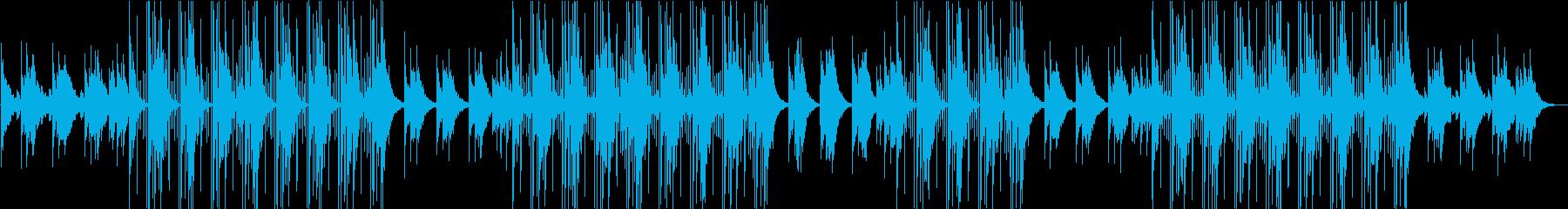 幻想的な洋楽トラップポップ♪の再生済みの波形