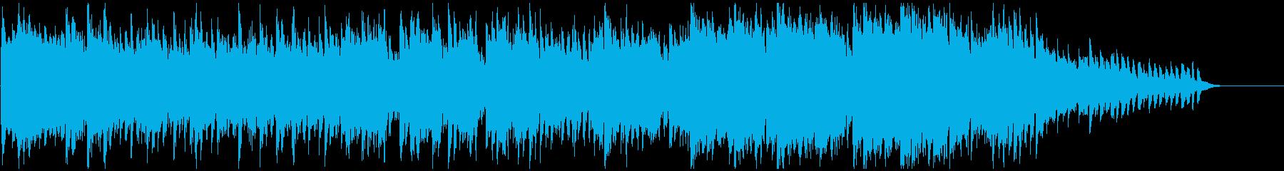 幽玄な和風エレクトロニカ ※60秒版の再生済みの波形