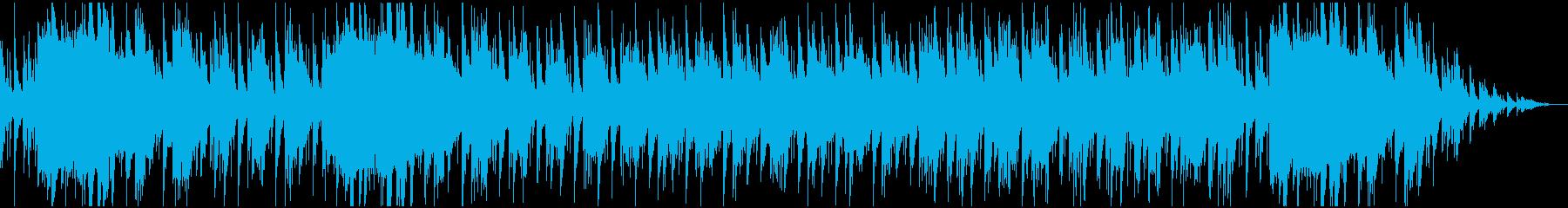 和風 忍びのイメージBGMの再生済みの波形