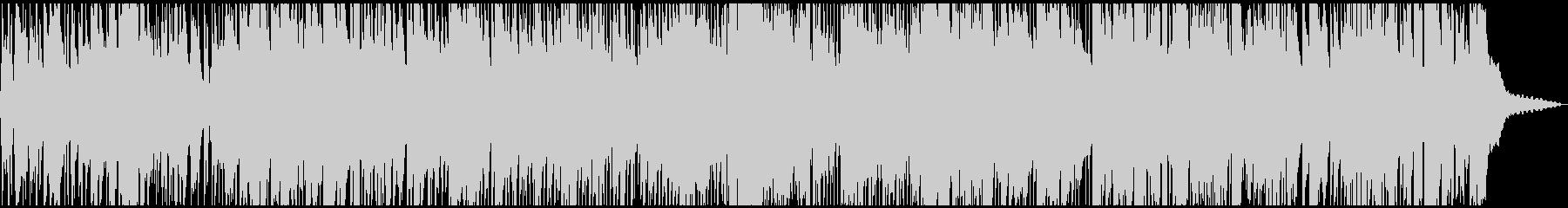 クールジャズBGMの未再生の波形