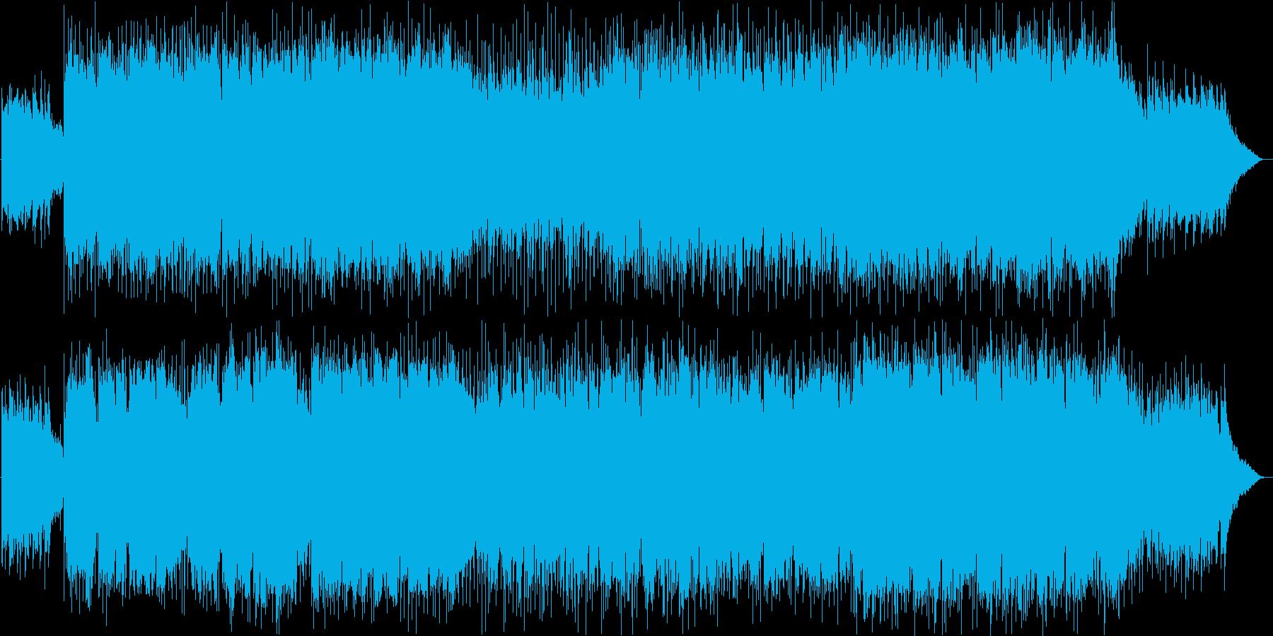 バイオリン生演奏・爽やかな祝福ソングの再生済みの波形