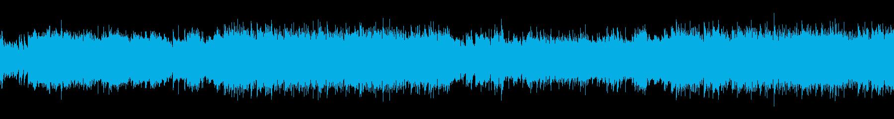ループ・哀愁ただようフラメンコの再生済みの波形