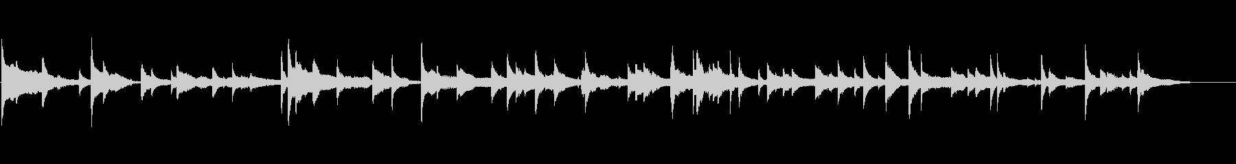 ホラーに合う不気味な雰囲気のBGMの未再生の波形
