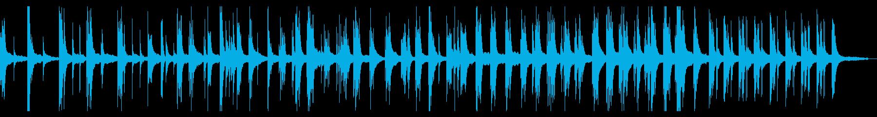 訥々と紡がれる静かな即興ピアノソロの再生済みの波形