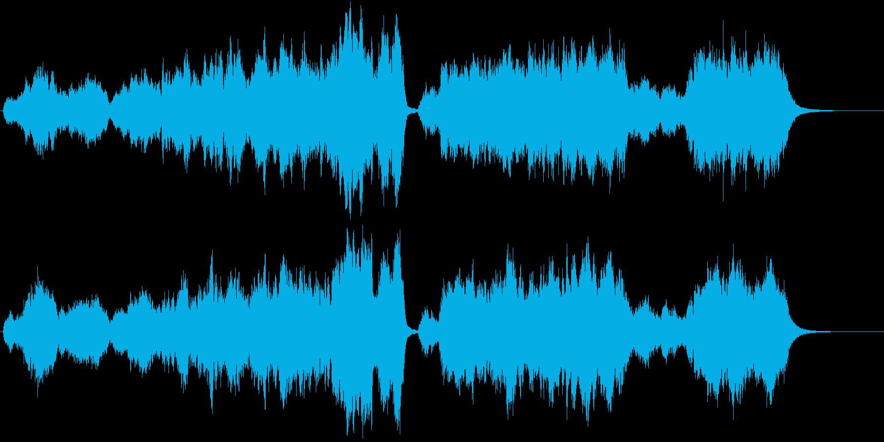 壮大で悲壮感のあるオーケストラ-短縮版-の再生済みの波形