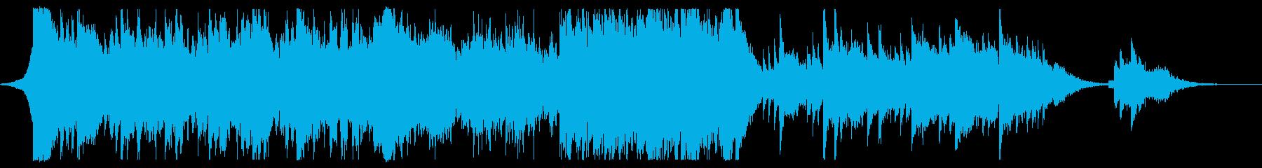 希望、爽やかなシネマティックトレーラーCの再生済みの波形