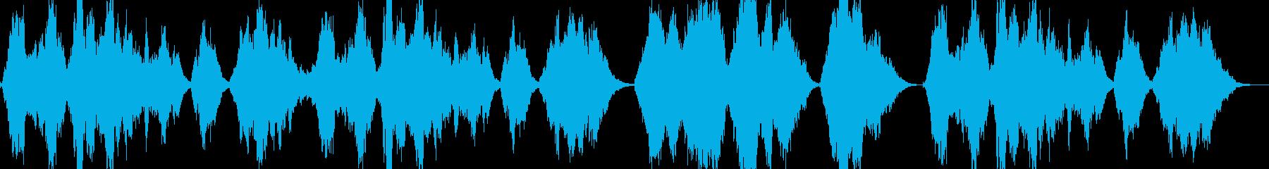 終幕の再生済みの波形