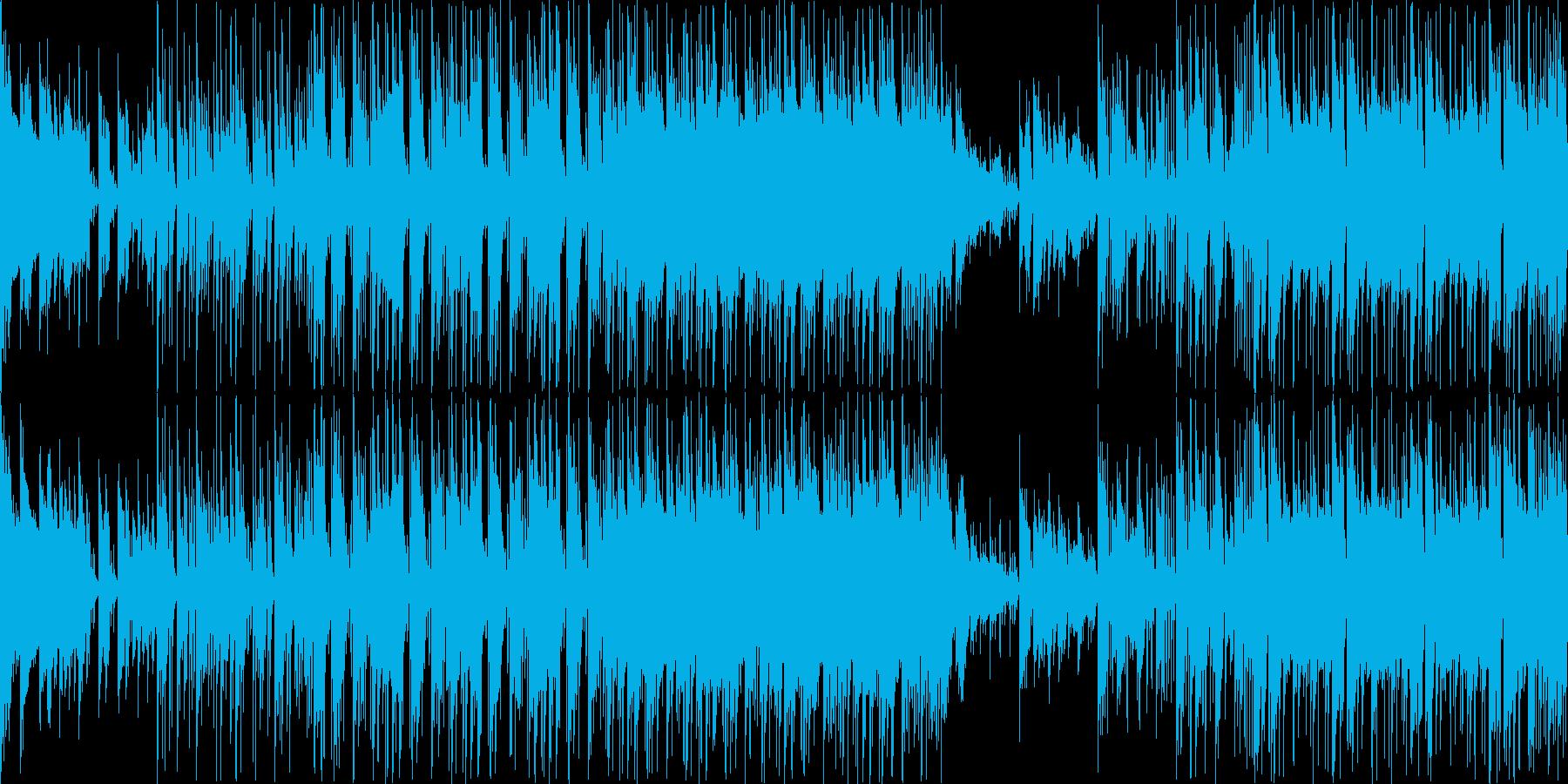 クールでフュージョン風の曲調です。目立…の再生済みの波形