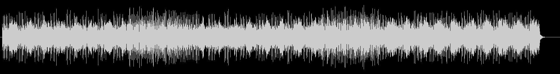 可愛くメルヘンなシンセサイザーサウンドの未再生の波形