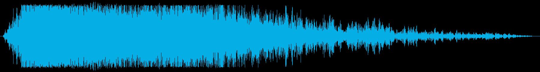 鳥系_怪物の声_フェニックスなどの再生済みの波形