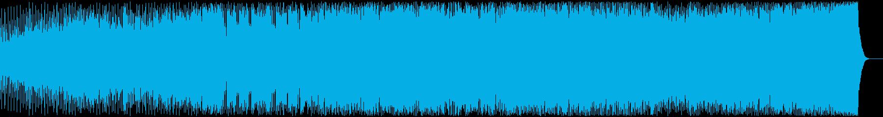迫力とスピード感の現代音楽の再生済みの波形