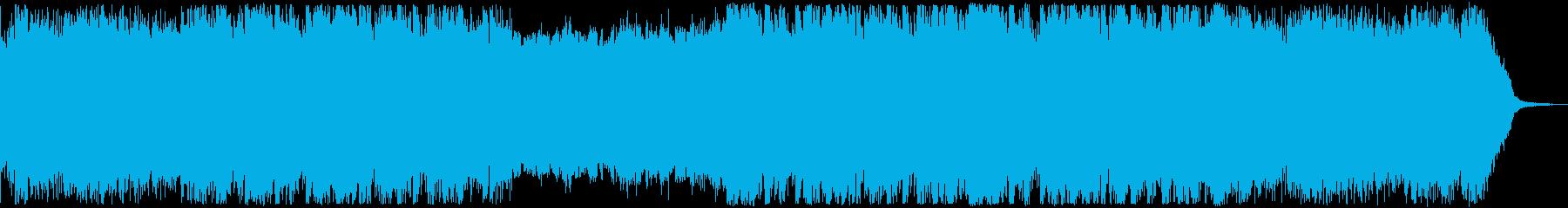 洋楽・かっこいいフューチャーベースの再生済みの波形