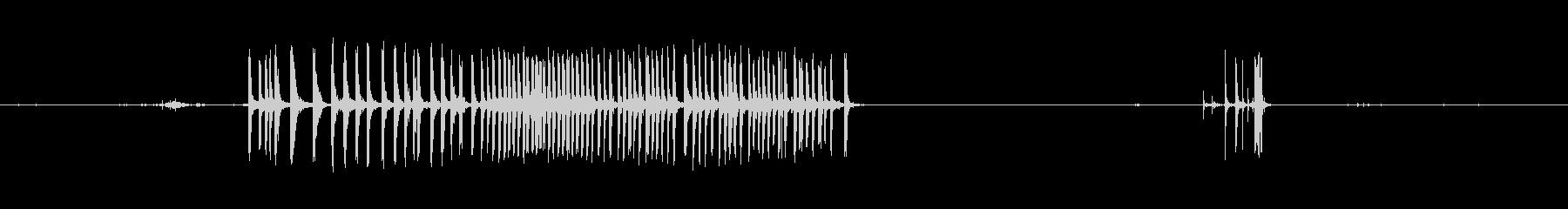 ガン、ロング、オフィステープ&テー...の未再生の波形