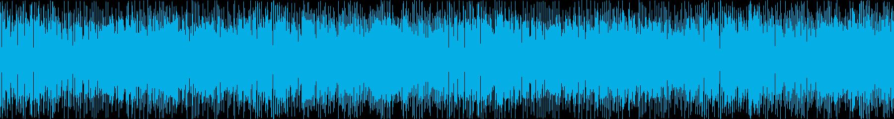エレキピアノによるジャズ風のBGMです…の再生済みの波形