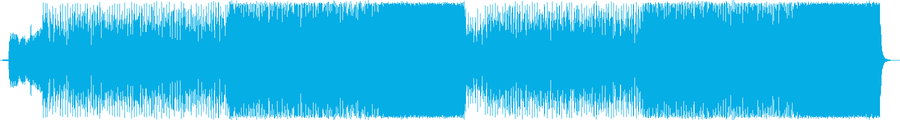 チェロを用いたオシャレなロックBGMの再生済みの波形