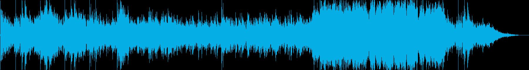ゲームのボスバトルの再生済みの波形