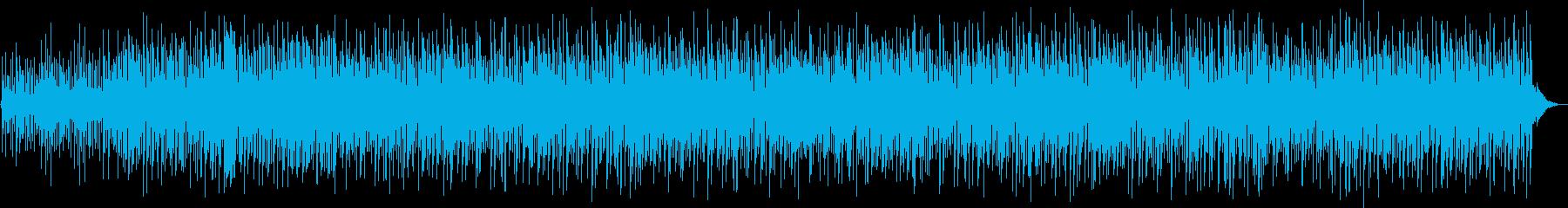 爽やかなジャズファンクの再生済みの波形