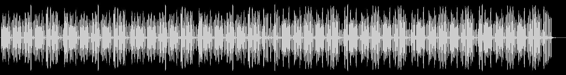 ほのぼの・のんきで穏やかなリコーダー曲の未再生の波形