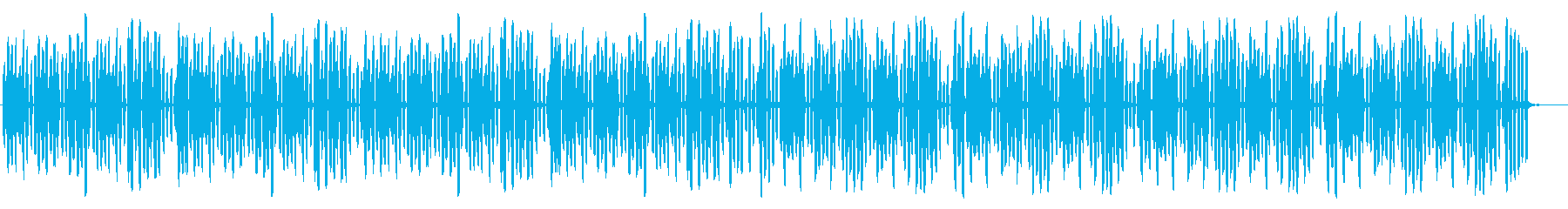 ほのぼの・のんきで穏やかなリコーダー曲の再生済みの波形