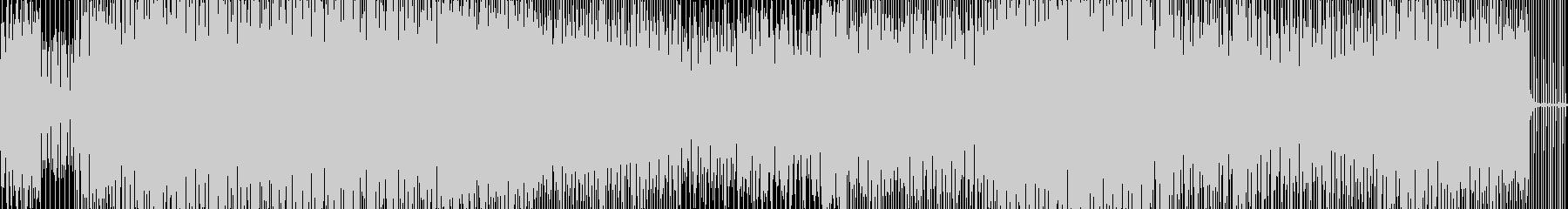 ダウンビートの未再生の波形
