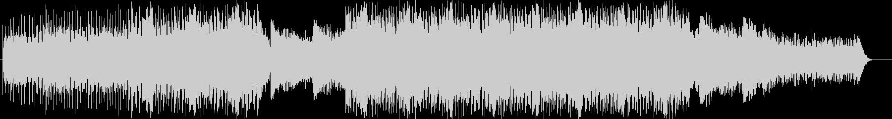 ソフトで静かな雰囲気のあるBGMの未再生の波形