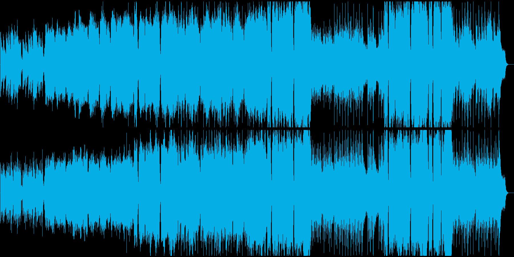 切なさから前を向くイメージのBGMの再生済みの波形