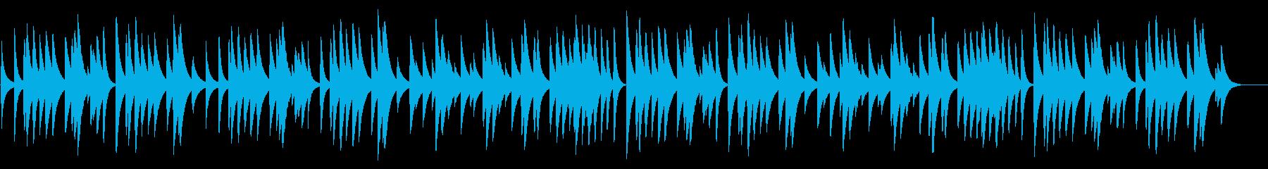 結婚行進曲 18弁オルゴール の再生済みの波形