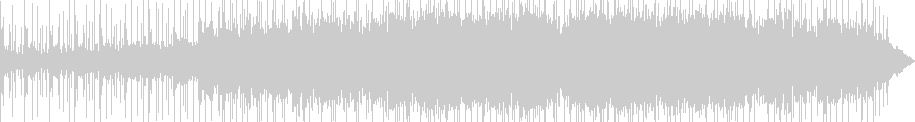 シネマティックなオーケストラ+ドラムの未再生の波形