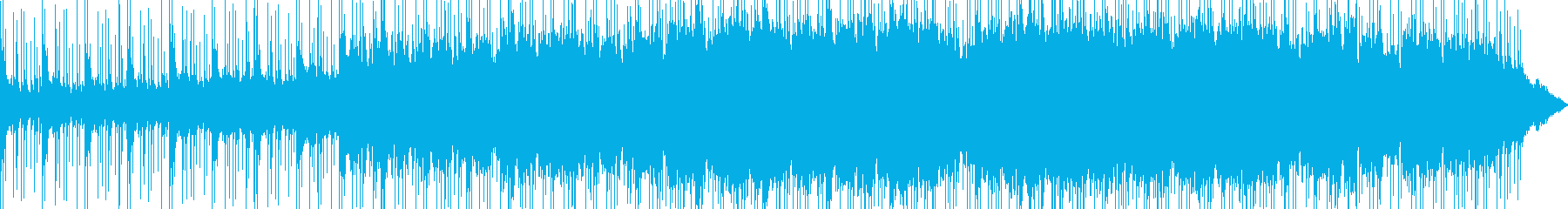 シネマティックなオーケストラ+ドラムの再生済みの波形