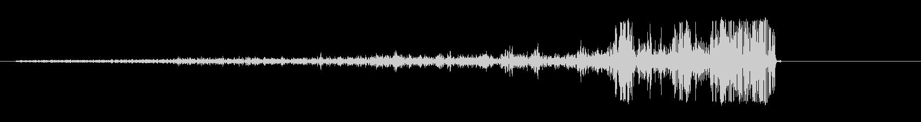ジュポッ(スピード感のある吸引音)の未再生の波形