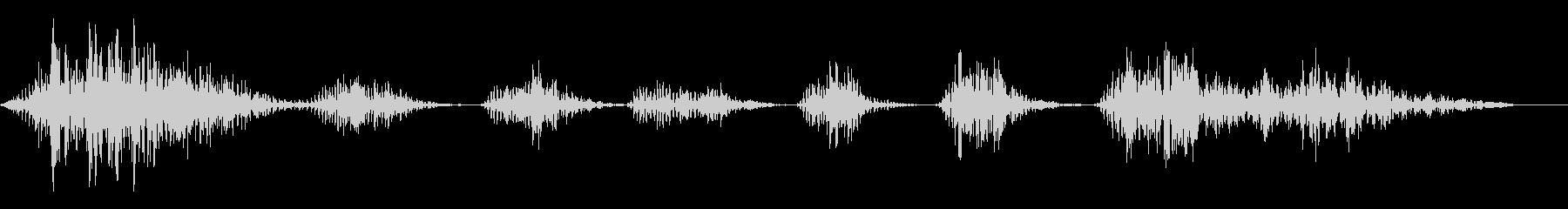 ワーハッハッハッハー3の未再生の波形