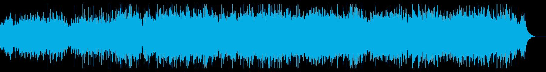 サスペンシブなテクスチャの再生済みの波形