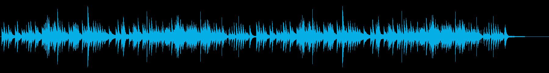優しい せつないピアノソロ 3拍子の再生済みの波形