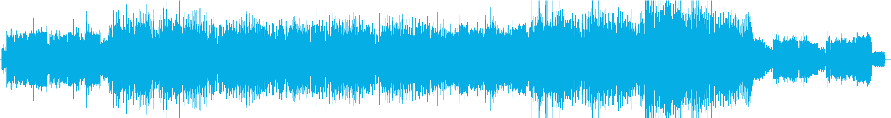 RPGのオープニングに使えそうな壮大な曲の再生済みの波形