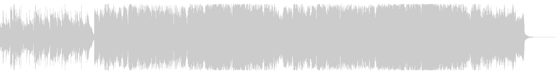 ドラマチックな和風オーケストラBGMの未再生の波形