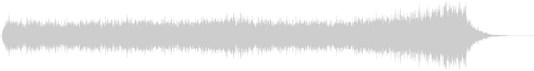 短調の旋律が美しいクワイア/コーラス曲の未再生の波形