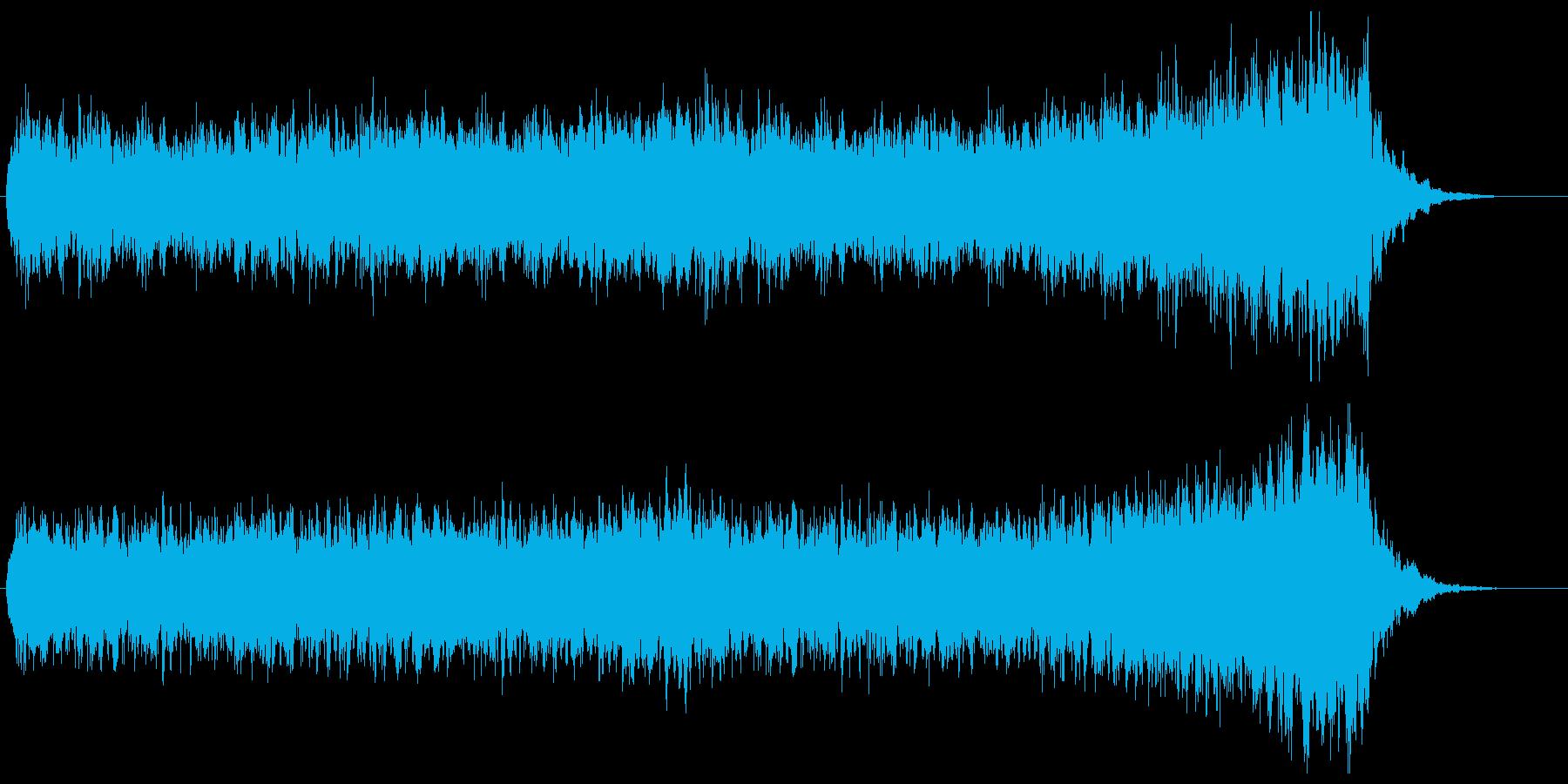 短調の旋律が美しいクワイア/コーラス曲の再生済みの波形
