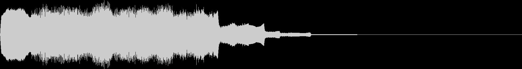 DOREMI ドレミ音階 キラキラFX3の未再生の波形