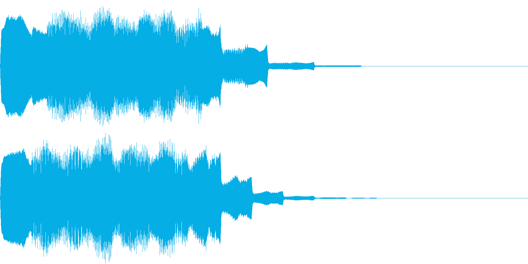 DOREMI ドレミ音階 キラキラFX3の再生済みの波形