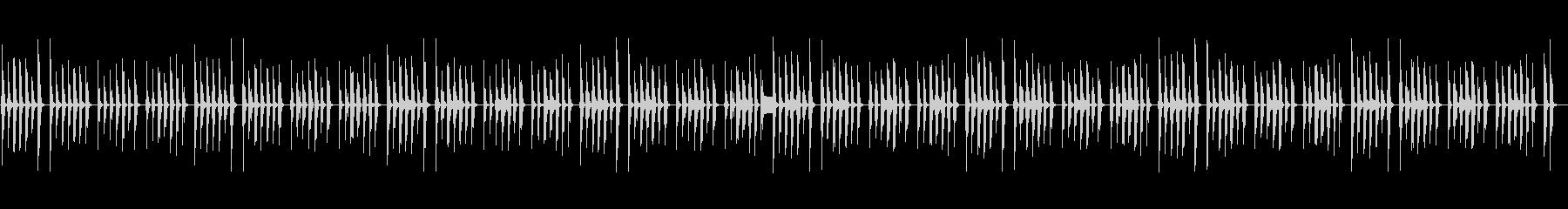 木琴と笛が可愛いピタゴラスイッチ風BGMの未再生の波形