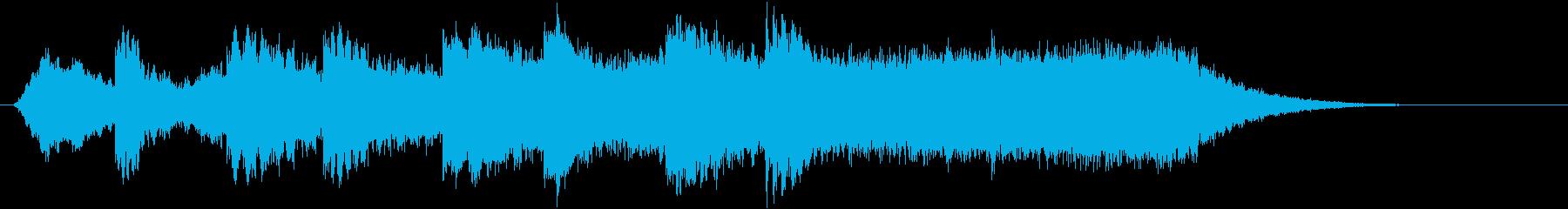 人の声(うわさ声、トラウマ、緊張)の再生済みの波形