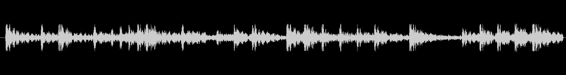 和太鼓リズムのみ音源のリバーブあり音源…の未再生の波形