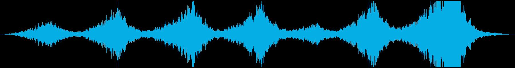 PADS 星間01の再生済みの波形